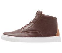 Sneaker high brown