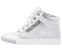 Sneaker high panna/silver