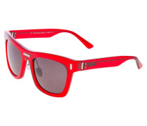 Sonnenbrille crystal red