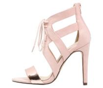 High Heel Sandaletten rosegold/nude