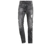 ROCCO REBELLION - Jeans Slim Fit - grey