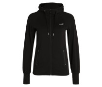 ELAINE Sweatjacke black