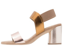 WIZZY Riemensandalette copper/bronze/mirror