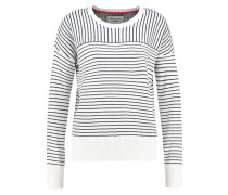DOG Strickpullover white/navy stripe
