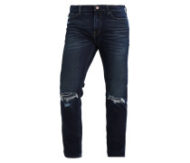 Jeans Straight Leg - dark destroy