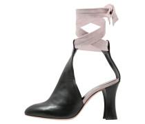 ROCCHETTA - High Heel Sandaletten - positano nero/cipria