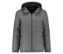 Winterjacke - mottled grey