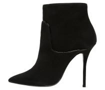 High Heel Stiefelette black
