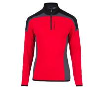 KIMBALL Fleecepullover red intense