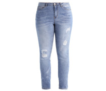 JRFIVE Jeans Slim Fit light blue denim