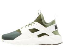 AIR HUARACHE RUN ULTRA SE - Sneaker low - palm green/sail/legion green/black/dark brown