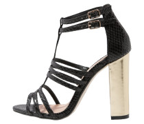 SASKIA High Heel Sandaletten black
