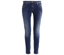 KATEWIN Jeans Straight Leg dark blue denim