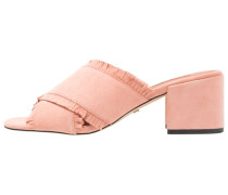 NANCY - Pantolette hoch - pink