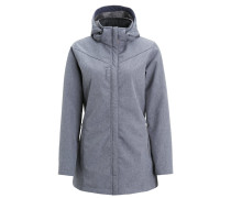 JASPER Softshelljacke anthracite blue