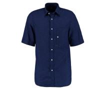 STALT DENIM SHIRT S/S - Hemd - dark blue
