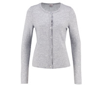 Strickjacke - opal grey
