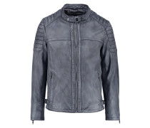 ANTONIO - Lederjacke - denim
