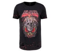 SAWYER TShirt print black