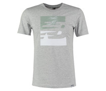 TShirt print athletic grey