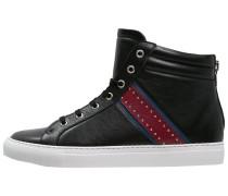 Sneaker high nero/rosso/blu