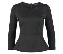 SILA Langarmshirt black
