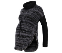Strickpullover black/grey