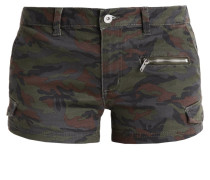 Jeans Shorts - camouflage