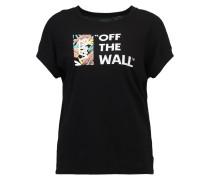 TROPICAL LOCK UP - T-Shirt print - black