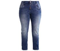 MOLLY Jeans Slim Fit dark blue denim