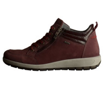 Sneaker high burgundy
