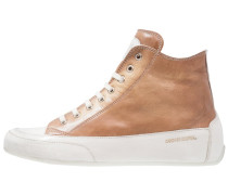 DEVIL - Sneaker high - marrone/panna