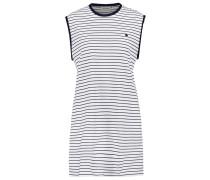 CULLEN - Jerseykleid - white/black