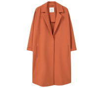 NIKITA Wollmantel / klassischer Mantel pastel orange