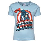 CAPTAIN AMERICA - T-Shirt print - light blue