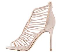 CRAZE High Heel Sandaletten rose gold