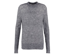 Strickpullover - crane grey