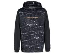 INFINITY Sweatshirt black marble/gold