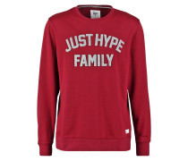 APPLIQUE Sweatshirt burgundy