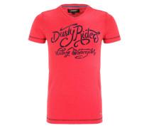 JAROSLAW - T-Shirt print - aurora red melange