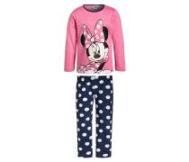 MINNIE Pyjama rosa/navy