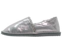 FLIPPADRILLA Hausschuh shiny silver