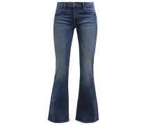 ANNETTA FLARE Flared Jeans blue lagoon