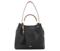 DAURA - Handtasche - black