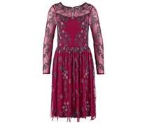 ROSEMARIE Cocktailkleid / festliches Kleid cranberry