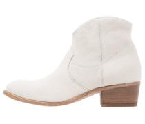 DONELLA - Cowboy-/ Bikerstiefelette - bianco