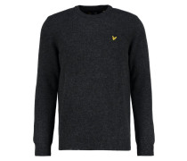 Strickpullover charcoal marl