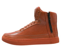 PYTHON MID Sneaker high orange