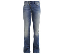 GStar LYNN ZIP HIGH FLARE Flared Jeans blue denim