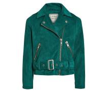 Kunstlederjacke emerald green